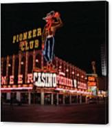 Las Vegas 1983 #1 Canvas Print