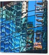 Las Vegas City Center Reflection Canvas Print