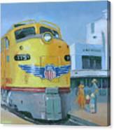 Las Vegas Dream Train Canvas Print
