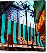 Las Vegas Lights II Canvas Print