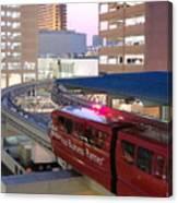 Las Vegas Monorail Canvas Print