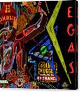 Las Vegas Neon Canvas Print