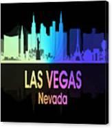Las Vegas Nv 5 Vertical Canvas Print