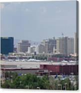 Las Vegas Pano Section 2 Of 3 Canvas Print