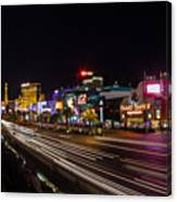 Las Vegas Strip At Night Canvas Print