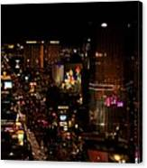 Las Vegas Strip II Canvas Print