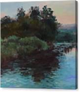 Las Vegas Wetlands Canvas Print