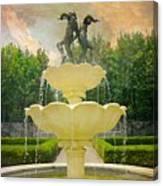 Lasdon Fountain Garden Canvas Print