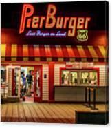 Last Burger On Land Canvas Print