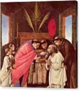 Last Communion Of St Jerome Canvas Print