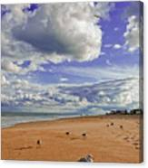 Last Day At The Beach Canvas Print