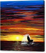 Last Days Dive Canvas Print