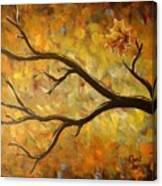 Last Leaf Canvas Print