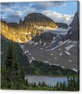 Last Light At Assiniboine Canvas Print