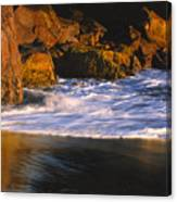 Last Light On Harris Beach Canvas Print