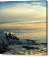 Last Light On Rainier II Canvas Print