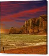 Apocalypse_last Man Standing Canvas Print