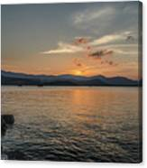 Last Moment Of The Day Canvas Print