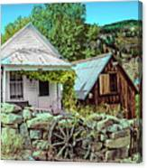 Last Post Office And Ice House Canvas Print