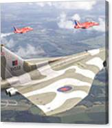 Last Royal Escort - Avro Vulcan Canvas Print