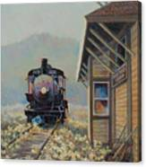 Last Stop Troutville Canvas Print
