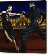 Last Tango In Paris Canvas Print
