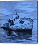 Last Voyage  Canvas Print