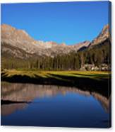Late Afternoon At Mcclure Meadow Canvas Print