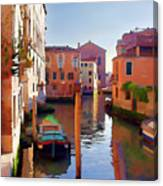 Late Afternoon In Venice Canvas Print