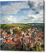 Late Afternoon Light On Staithes Canvas Print