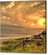 Late Day Beach Canvas Print