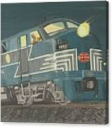 Late Night On The New York Central Canvas Print