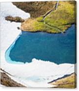Late Thawing Tarn Canvas Print