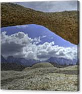 Lathe Arch Between Storms Canvas Print