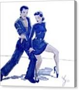 Latin Ballroom Canvas Print