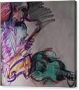 Latin Jam Canvas Print