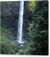 Latourelle Falls-columbia River Gorge Canvas Print