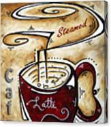 Latte By Madart Canvas Print