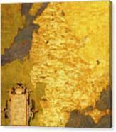 Latvia And Lithuania Canvas Print