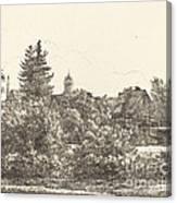 Lauban In Silesia Canvas Print
