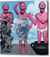 Laugh Heartily Canvas Print