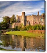 Laugharne Castle 1 Canvas Print