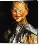 Laughing Child 1907 Canvas Print
