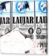 Laujar Fight Canvas Print