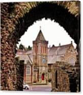 Launceston Castle South Gatehouse Canvas Print