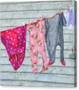 Laundry Day Canvas Print