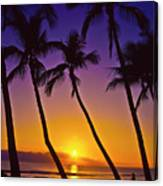 Launiupoko Sunset Canvas Print