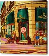Laura Secord Candy And Cone Shop Canvas Print