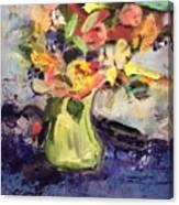 Laura's Antique Vase Canvas Print