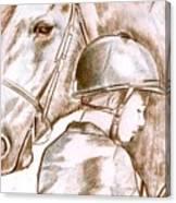 Laura's Horse Canvas Print